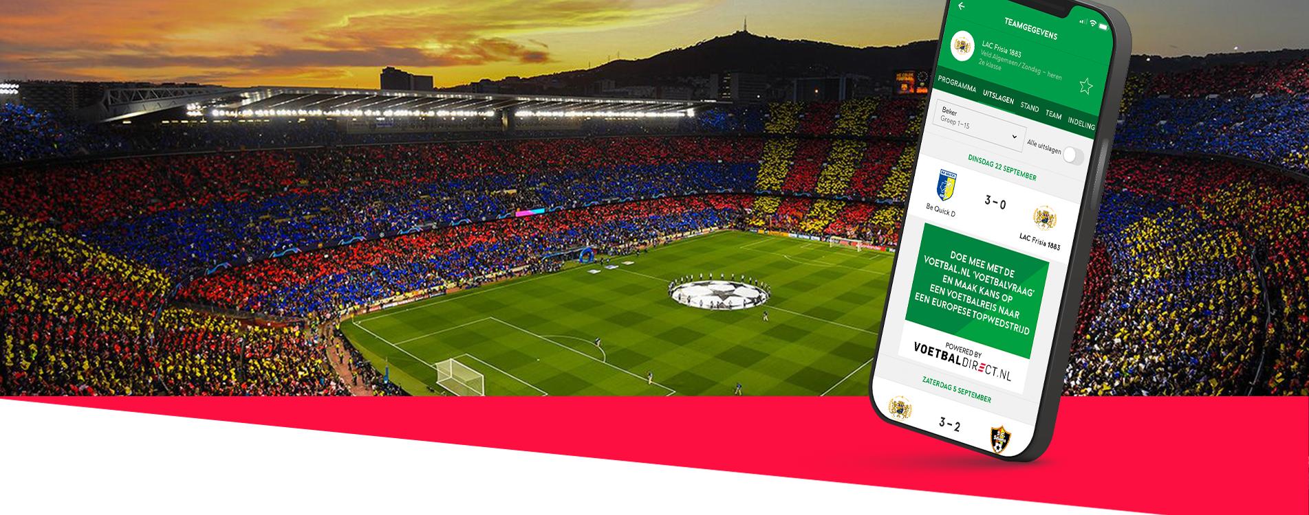 Samenwerking VoetbalDirect & Voetbal.nl