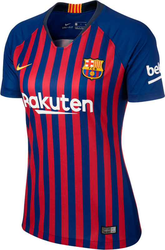 fb60292a7ef Nike FC Barcelona Thuis Shirt Dames - Clubs - Outlet - VoetbalDirect