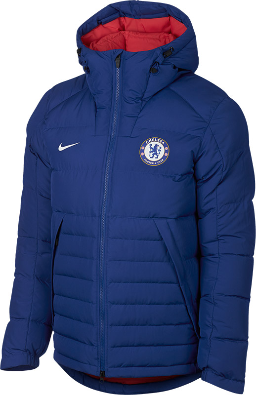 36a02c49db6 Nike Chelsea Downfill Jas - VoetbalDirect