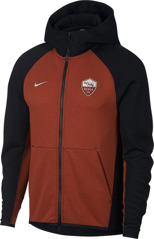 Nike AS Roma Tech Fleece Hoodie
