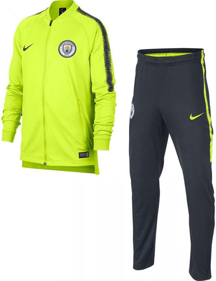 koop het beste loop schoenen gratis bezorging Nike Manchester City Squad Trainingspak Kids - VoetbalDirect