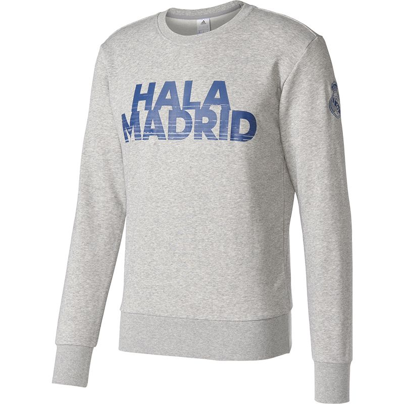 adidas Real Madrid Crew Sweat Top VoetbalDirect.nl