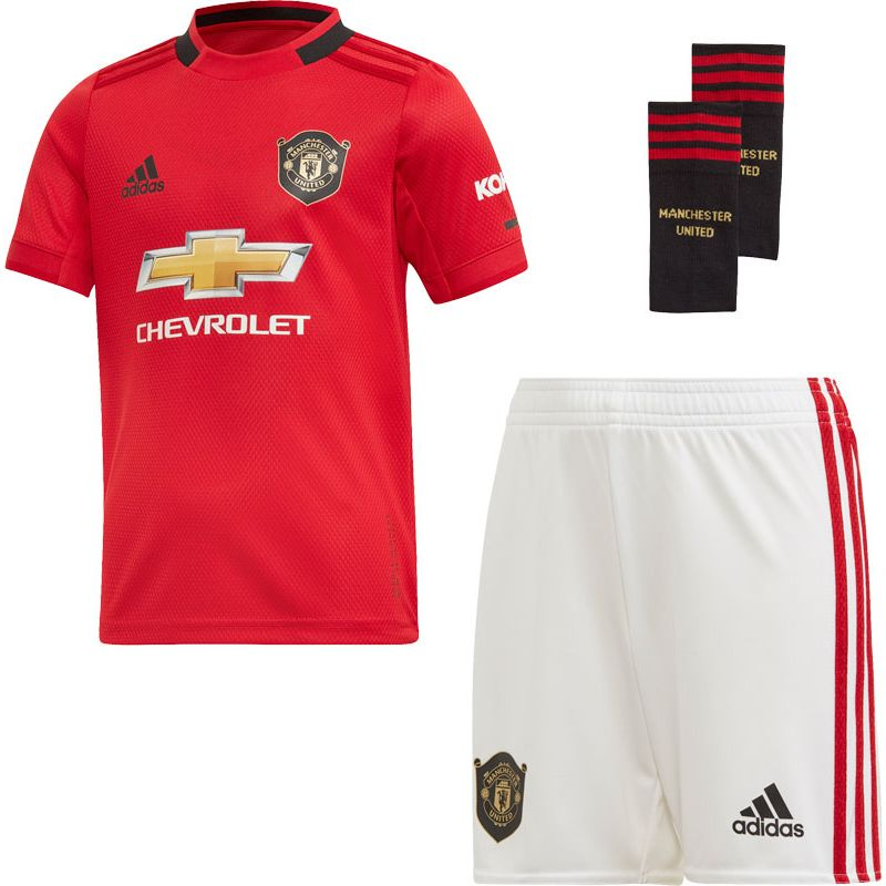 adidas Manchester United Thuis Tenue Little Kids