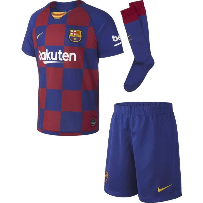Nike FC Barcelona Thuis Tenue Little Kids VoetbalDirect.nl