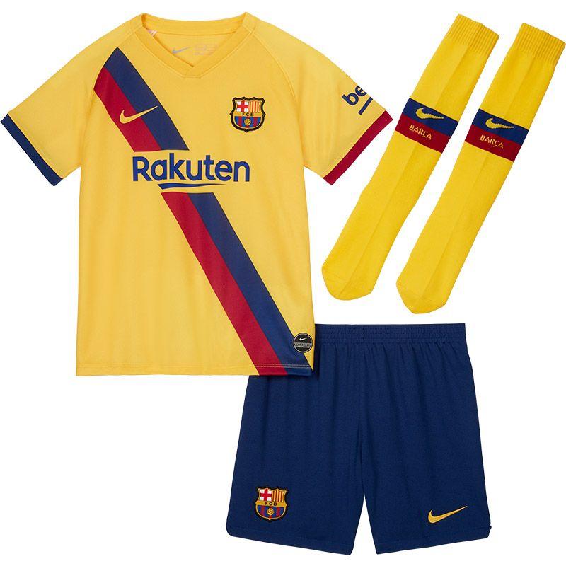 Nike FC Barcelona Uit Tenue Little Kids VoetbalDirect.nl