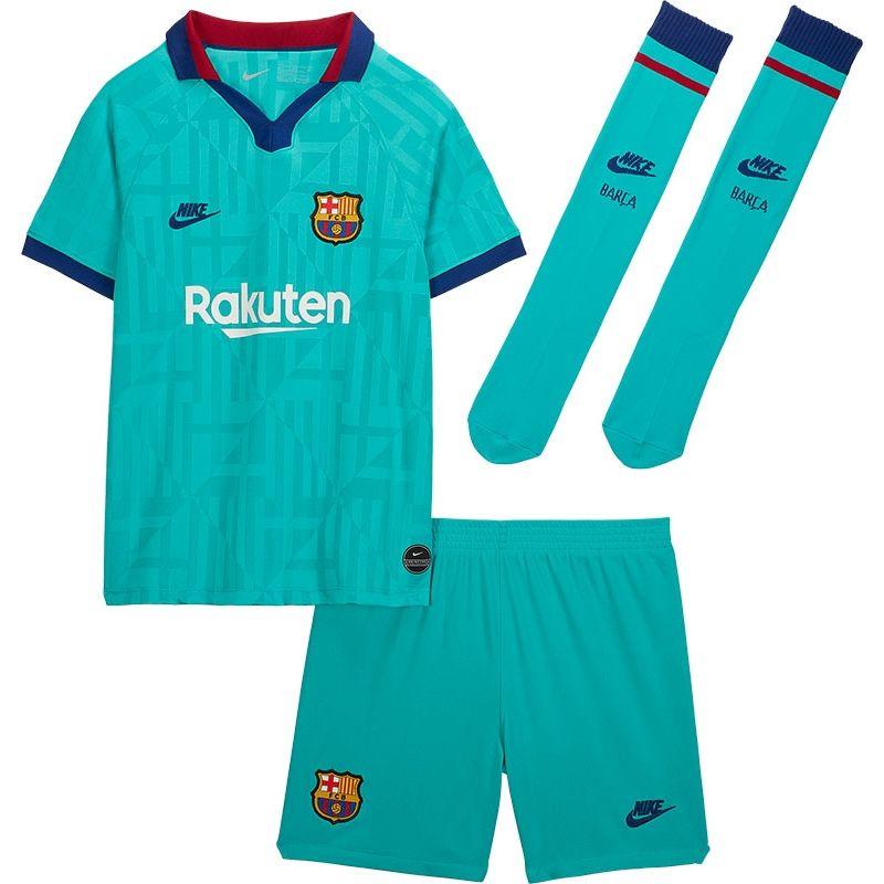Nike FC Barcelona 3rd Tenue Little Kids VoetbalDirect.nl