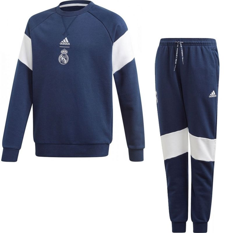 adidas Real Madrid Sweat Trainingspak Kids VoetbalDirect.nl