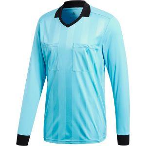 adidas UCL Scheidsrechter Korte Mouwen Shirt Licht Blauw