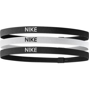 Nike Elastic Hairband 3 St. Zwart