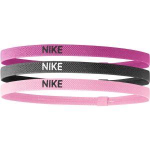 Nike Elastic Hairband 3 St. Roze