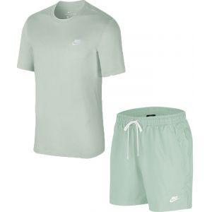 Nike Sportswear Club Shirt Set