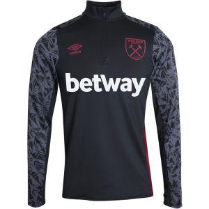 Umbro West Ham United Half Zip Drill Top