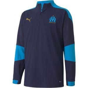 Puma Olympique Marseille 1/4 Zip Drill Top Kids