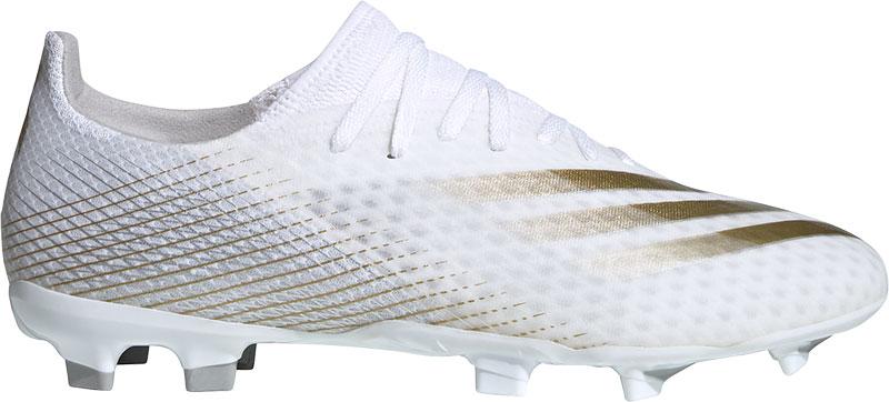Adidas Performance X Ghosted.3 FG Sr. voetbalschoenen wit/goud online kopen