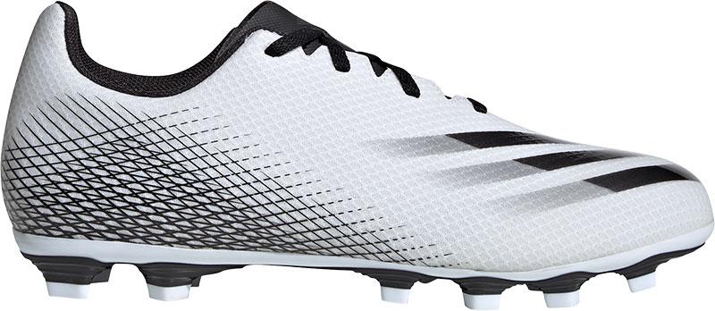 Adidas Performance X GHOSTED.4 FxG Sr. voetbalschoenen wit/zwart/zilver online kopen