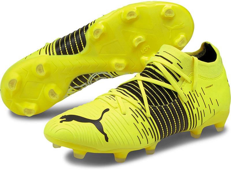 Puma Ultra Z3 .1 FG/AG Sr. voetbalschoenen geel/zwart online kopen