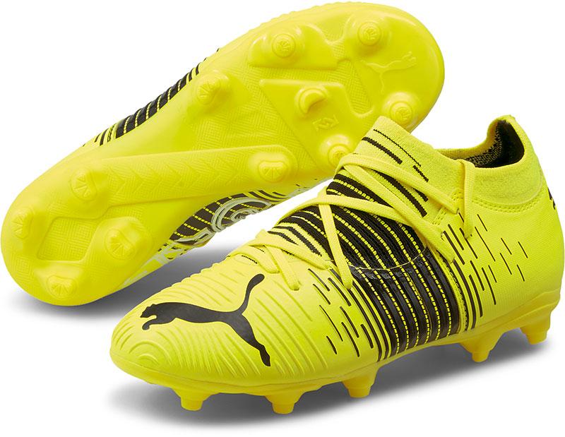 Puma Voetbalschoenen kind future z 3.1 fg/ag geel/zwart online kopen