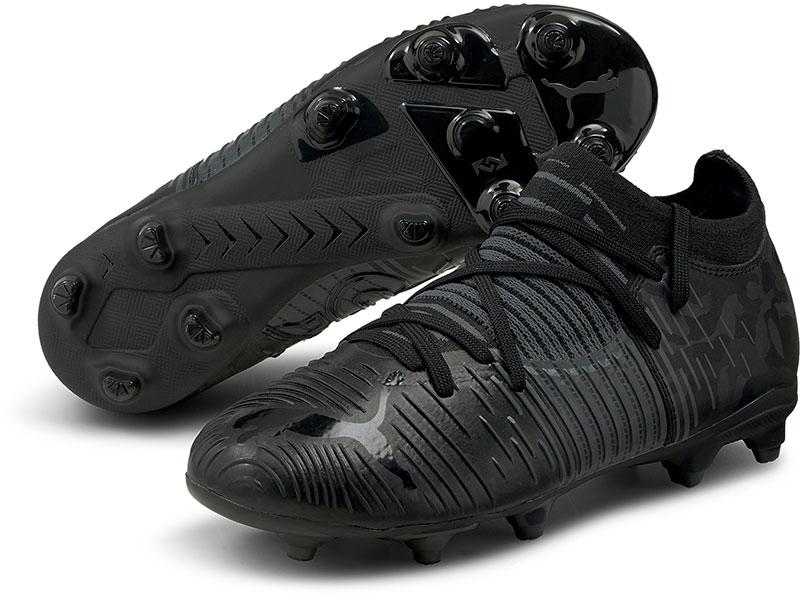 Puma Ultra Z3 .1 FG/AG Jr. voetbalschoenen zwart/antraciet online kopen