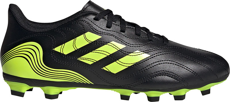 Adidas Performance Copa Sense.4 FG Sr. voetbalschoenen zwart/geel online kopen