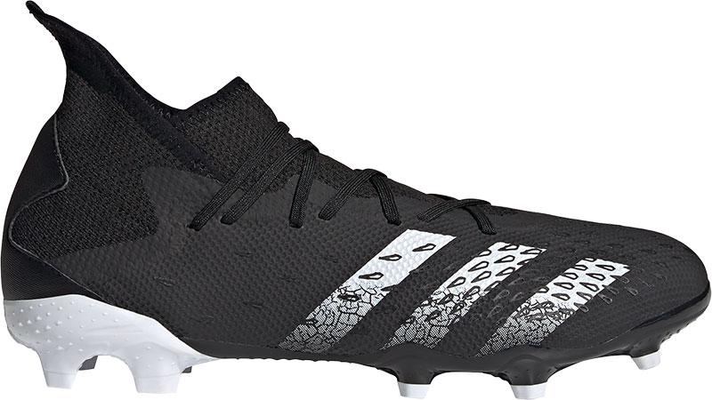 Adidas Predator Freak.3 Firm Ground Voetbalschoenen Core Black / Cloud White / Core Black Dames online kopen