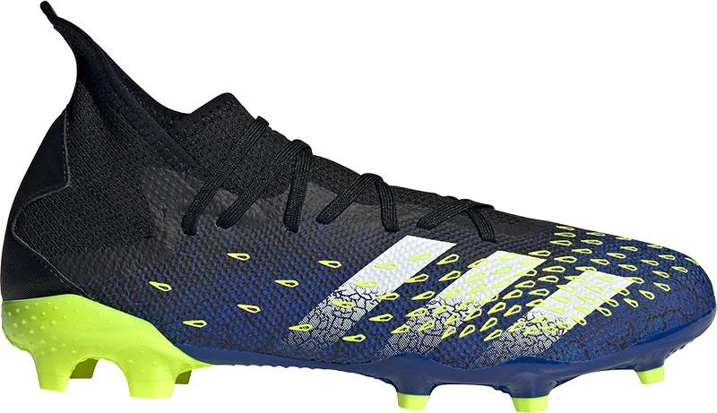 Adidas Performance Predator Freak.3 FG Sr. voetbalschoenen zwart/wit/geel online kopen