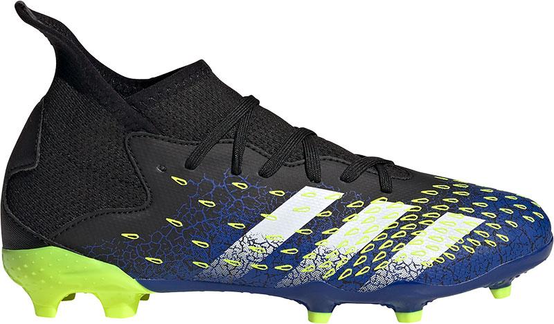 Adidas Voetbalschoenen kind predator freak.3 fg voetbalschoenen zwart/blauw online kopen