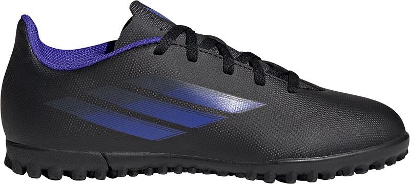 Adidas Performance X Speedflow.4 Jr. voetbalschoenen zwart/blauw/geel online kopen