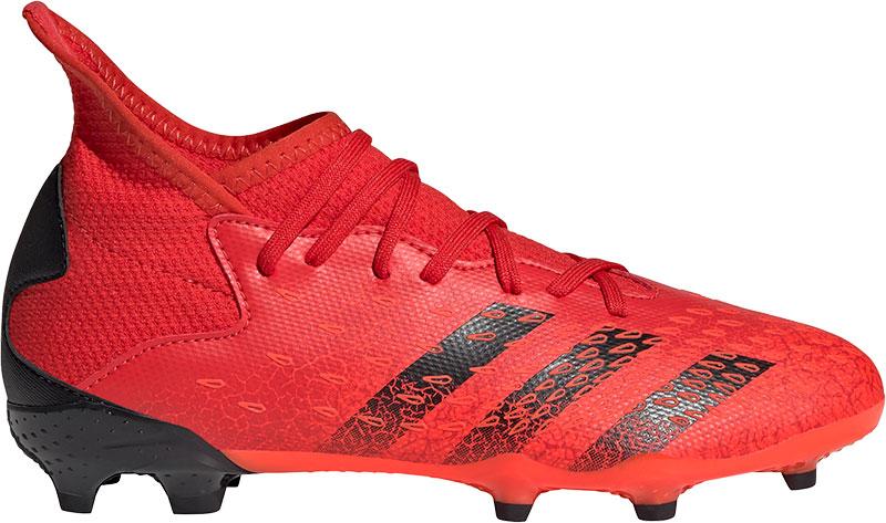 Adidas Kids adidas Predator Freak.3 Gras Voetbalschoenen (FG) Kids Rood Zwart Rood online kopen