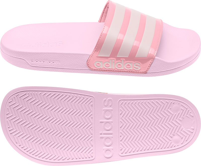 Adidas adilette Shower Badslippers Clear Pink / Clear Pink / Super Pop Dames online kopen