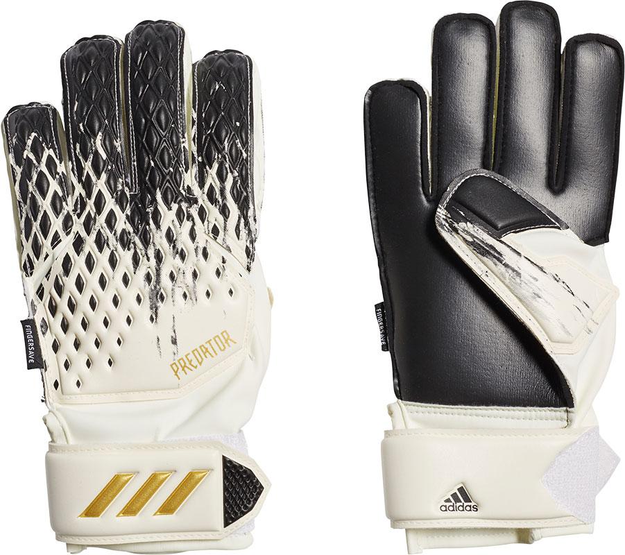Adidas predator 20 match fingersave keepershandschoenen wit/goud kinderen online kopen