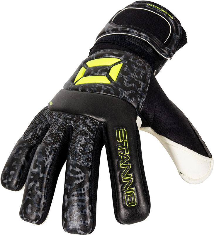 Stanno keepershandschoenen Volare Match antraciet/neon geel online kopen