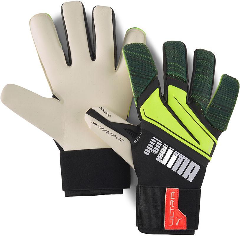 PUMA Keepershandschoenen Ultra Grip 1 Hybrid Pro Game On Zwart/Geel online kopen