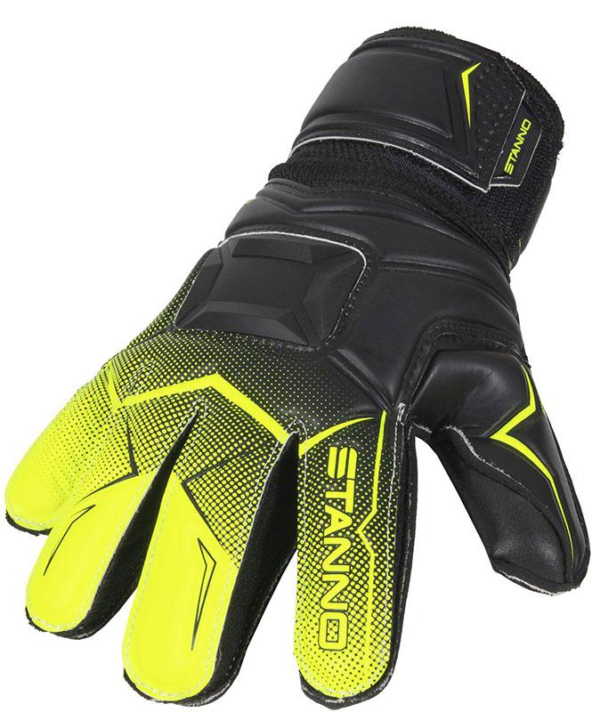 Stanno Junior Jr. Wild Ltd. keepershandschoenen zwart/felgeel online kopen